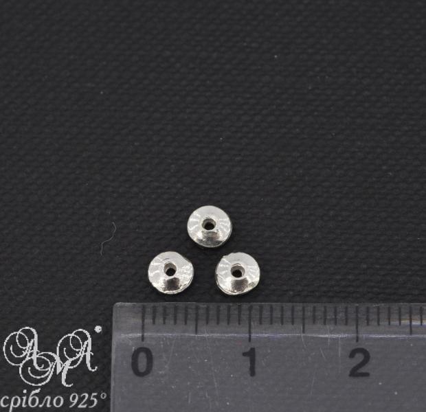Вставка (В0037) 1х4 мм срібло 925 проби