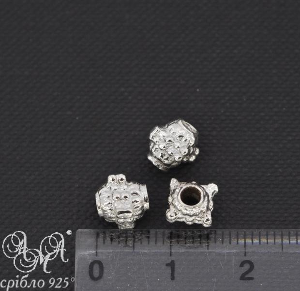 Вставка (В0013) 6х8 мм срібло 925 проби