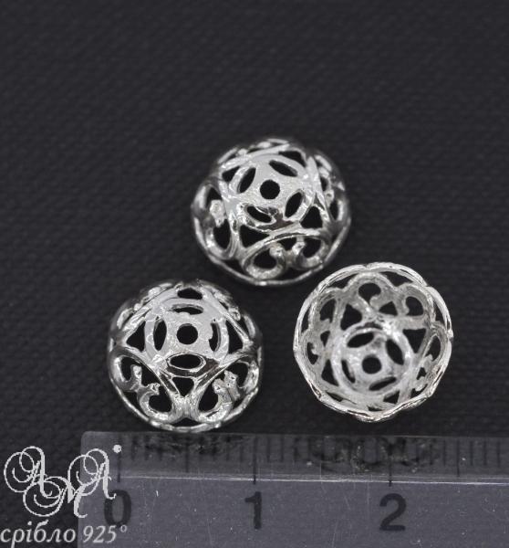 Коронка (К0103) 1,5х11 мм серебро 925 пробы
