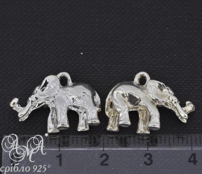 Підвіска (П0106) 19х21 мм срібло 925 проби