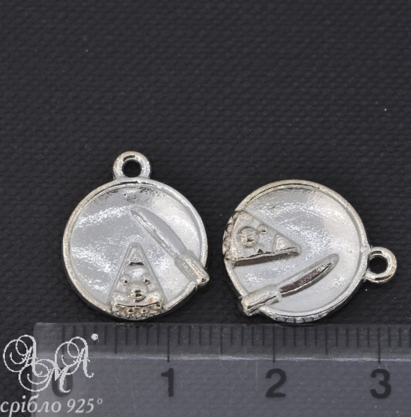 Підвіска (П0180) 14х16 мм срібло 925 проби
