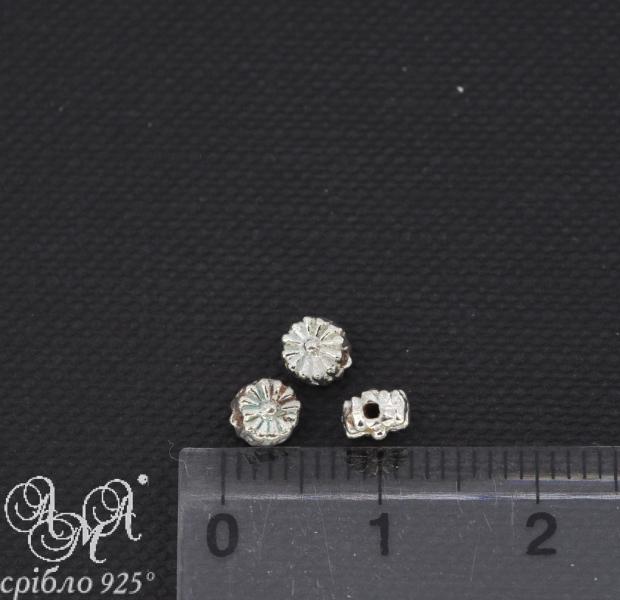 Вставка (В0064) 1,5х3,5 мм срібло 925 проби