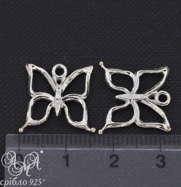 Підвіска (П0115) 15х16 мм срібло 925 проби