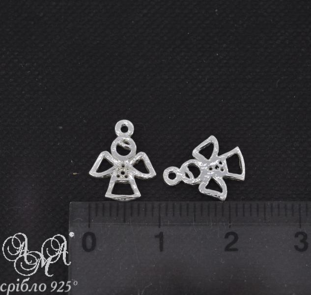 Подвеска (П0821) 10х15 мм серебро 925 пробы