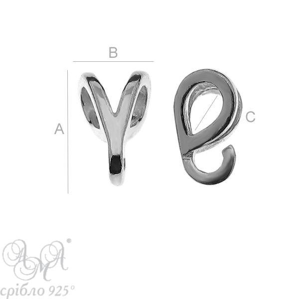 Краватка  (ОДЛ-0057) 4,50х7,00х3,00 мм
