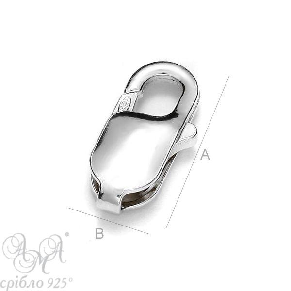 Карабіни (Ж 13,0 мм)  срібло 925 проби